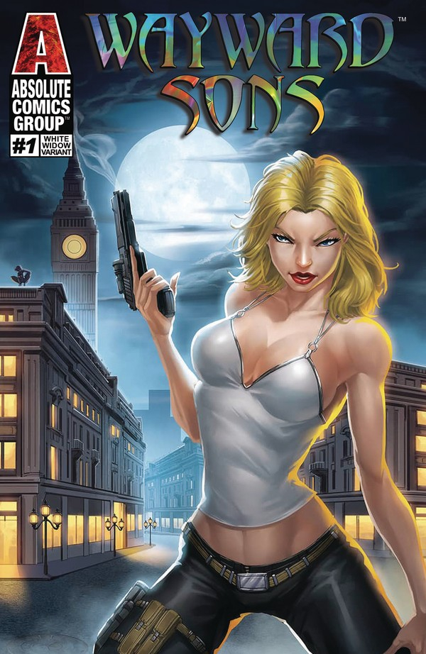WAYWARD LEGENDS 1 (VO) WHITE WIDOW COVER - JAMIE TYNDALL