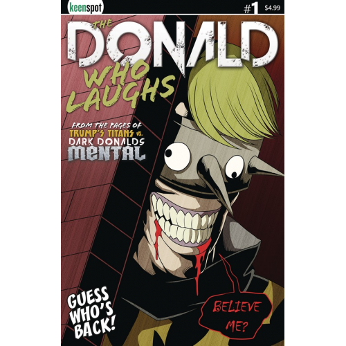 THE DONALD WHO LAUGHS 1 (VO) COVER A MAIN