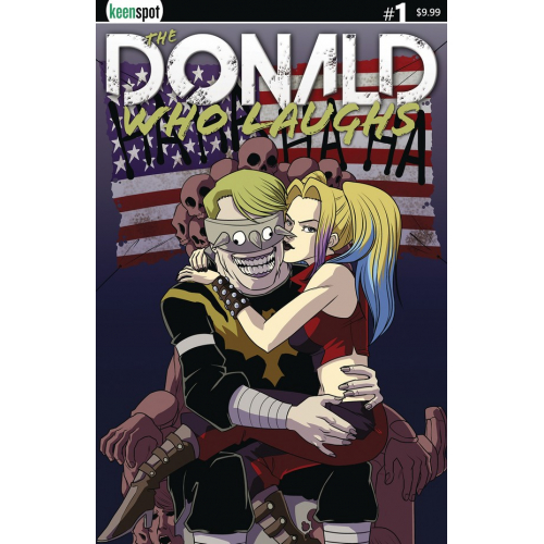 THE DONALD WHO LAUGHS 1 (VO) COVER B
