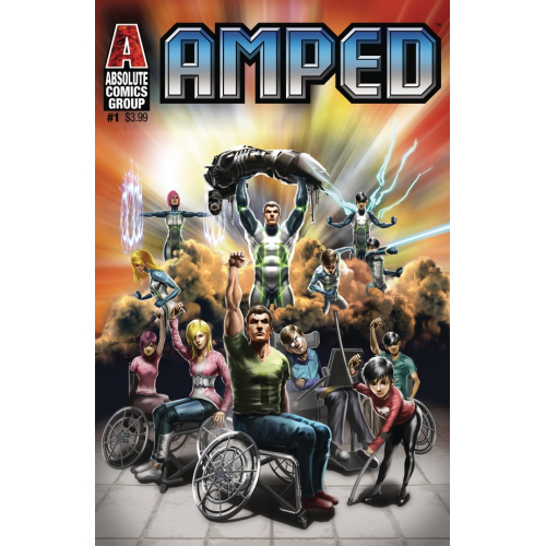 AMPED 1 (VO) WHITE WIDOW COVER - JAMIE TYNDALL