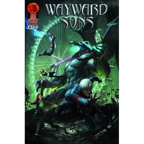 WAYWARD SONS 1 (VO) WHITE WIDOW COVER - JAMIE TYNDALL