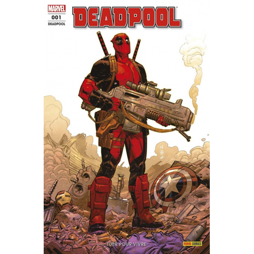 ABONNEMENT DEADPOOL FRESH START 6 MOIS (VF)