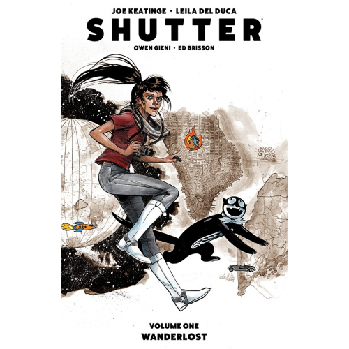 SHUTTER TP VOL 01 WANDERLOST (VO) occasion