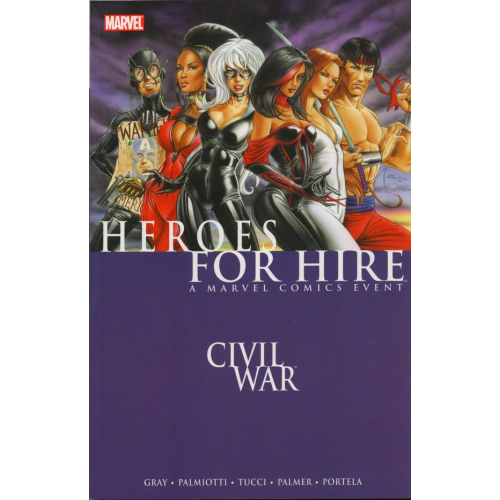 HEROES FOR HIRE TP VOL 01 CIVIL WAR (VO) Occasion
