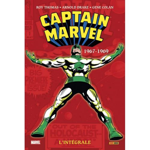 CAPTAIN MARVEL : L'INTÉGRALE TOME 1 (1967-1969) (VF)
