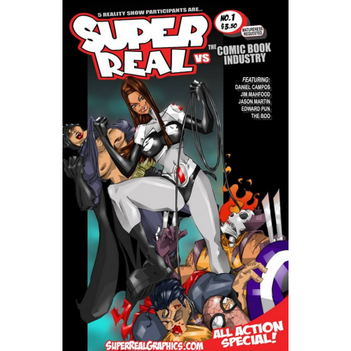 Super Real 4 (VO) Jason Martin (Vs The Comic Book Industry 1)