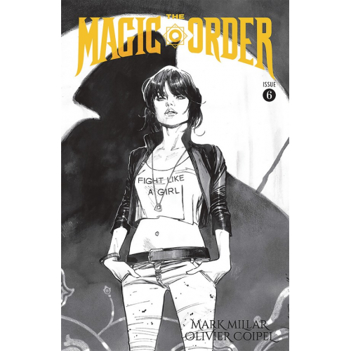 MAGIC ORDER 6 (OF 6) CVR B B&W COIPEL (VO) Mark Millar - Olivier Coipel
