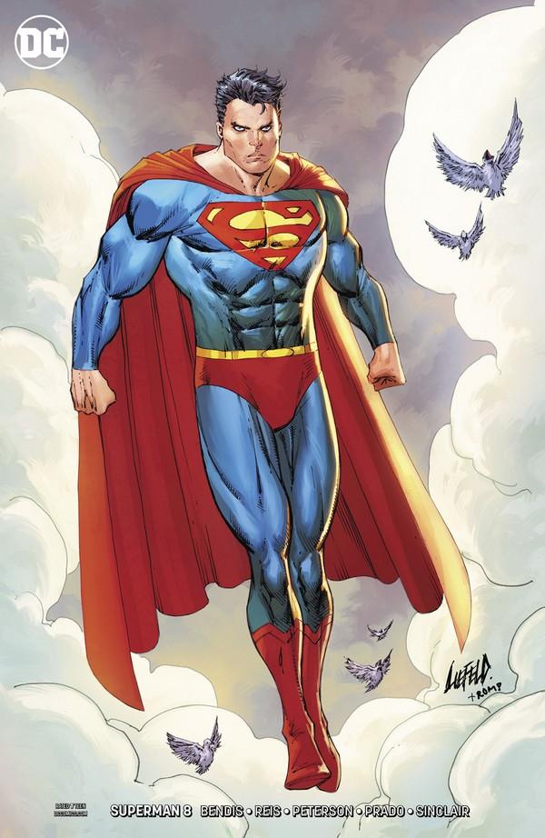 Superman 8 Liefeld Variant (VO)
