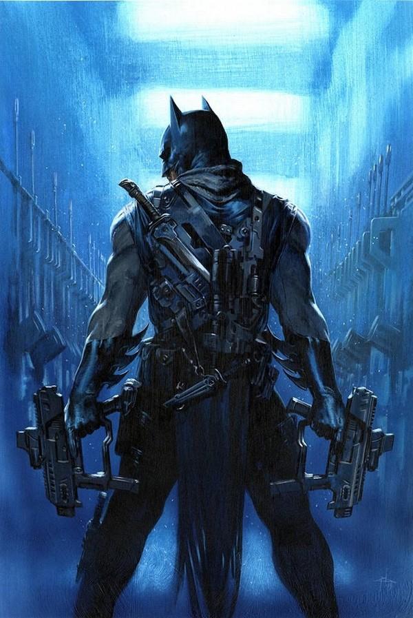 BATMAN WHO LAUGHS THE GRIM KNIGHT 1 DELL OTTO VARIANT (VO)