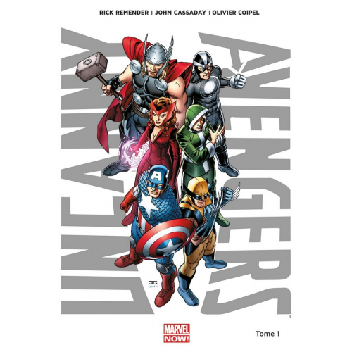 Uncanny Avengers Tome 1 (VF) occasion