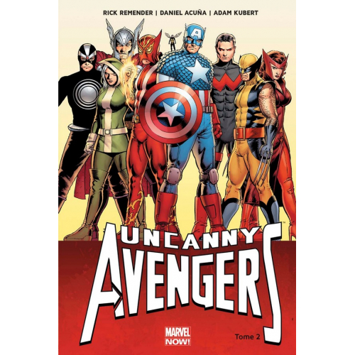 Uncanny Avengers Tome 2 (VF) occasion