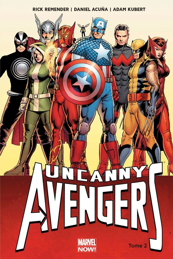 Uncanny Avengers Tome 2 (VF)