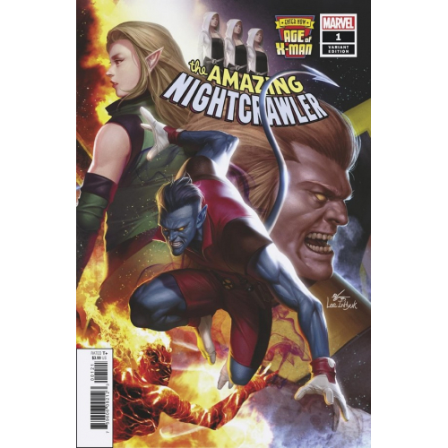 AGE OF X-MAN AMAZING NIGHTCRAWLER 1 (OF 5) INHYUK LEE CONNECTING VARIANT(VO)
