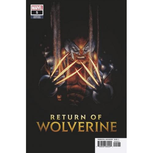 RETURN OF WOLVERINE 5 KUBERT VARIANT (VO)