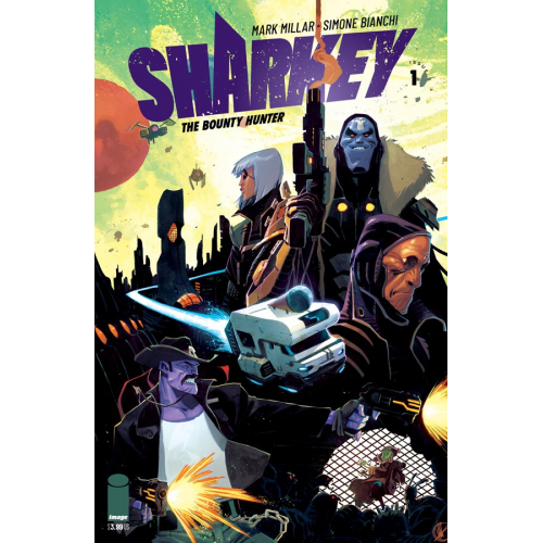 SHARKEY BOUNTY HUNTER 1 (OF 6) CVR D SCALERA (VO) MARK MILLAR - SIMONE BIANCHI