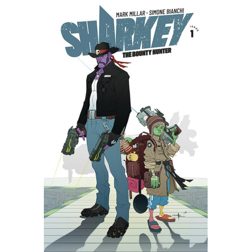 SHARKEY BOUNTY HUNTER 1 (OF 6) CVR E YILDIRIM (VO) MARK MILLAR - SIMONE BIANCHI