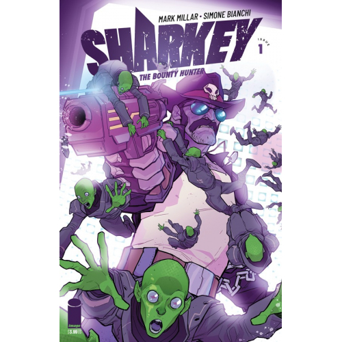 SHARKEY BOUNTY HUNTER 1 (OF 6) CVR G KERSCHL (VO) MARK MILLAR - SIMONE BIANCHI