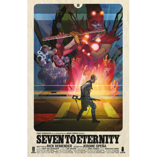 SEVEN TO ETERNITY 13 CVR B EDWARDS (VO)