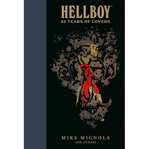 HELLBOY: 25 YEARS OF COVERS HC ARTBOOK (VO)