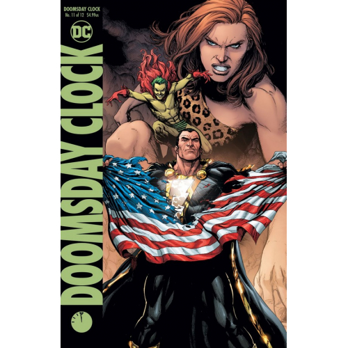 DOOMSDAY CLOCK 11 (OF 12) Cover B (VO)