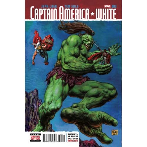 Captain America White 3 Fabry Kirby Monster Variant (1:10)