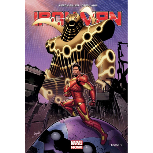 Iron Man Marvel Now Tome 3 (VF) occasion