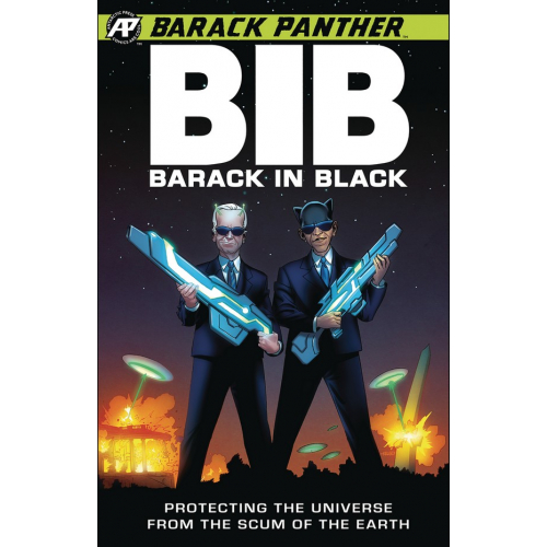 BARACK PANTHER : BARACK IN BLACK 1 (VO)