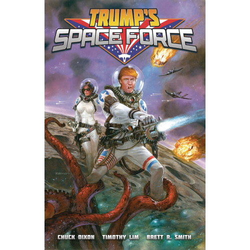 TRUMP SPACE FORCE ONE-SHOT (VO)