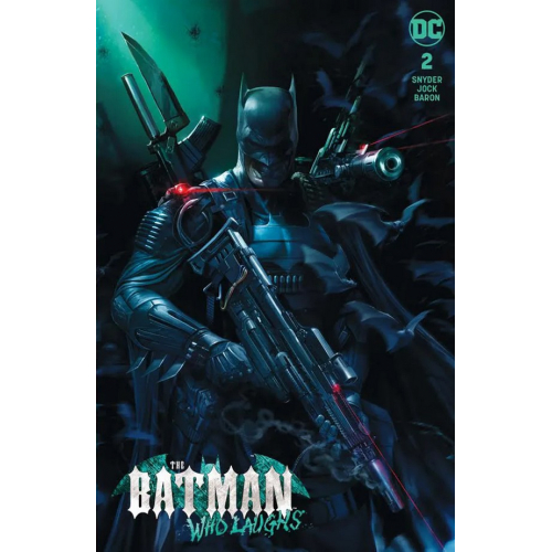 Batman Who Laughs 2 (VO) - FRANCESCO MATTINA VARIANT