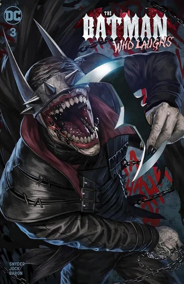 Batman Who Laughs 3 (VO) - Snyder - JOCK
