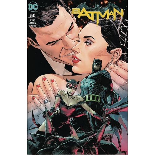 BATMAN 50 ROMANCE Signé par Tom King & Clay Man (VO)