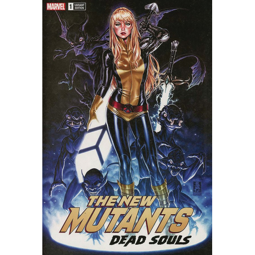 NEW MUTANTS DEAD SOULS 1 signé par MARK BROOKS (VO)