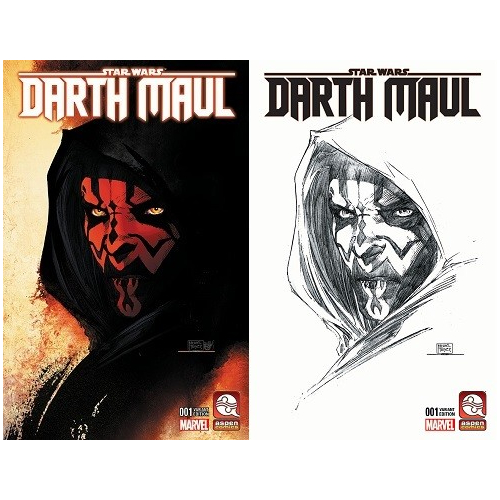 DARTH MAUL 1 VAR CVRS A & B SET MICHAEL TURNER (VO)