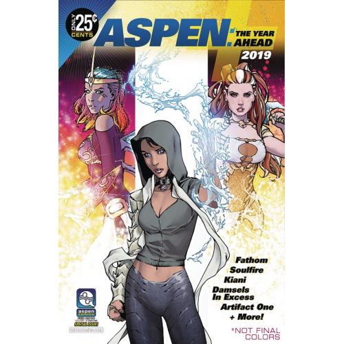 ASPEN COMICS 2019 YEAR AHEAD (VO)