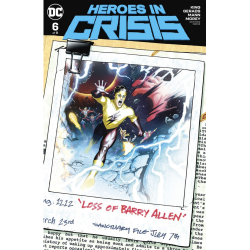 HEROES IN CRISIS 6 (OF 9) VARIANT EDITION (VO)