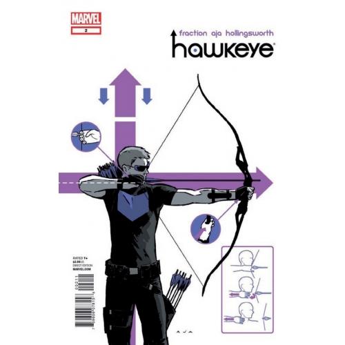 Hawkeye par Fraction et Aja (VF)