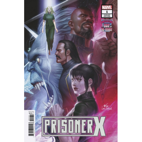 AGE OF X-MAN PRISONER X 1 INHYUK LEE CONNECTING VAR (VO)