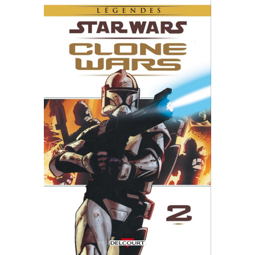Star Wars : Clone Wars Tome 2 (VF) occasion
