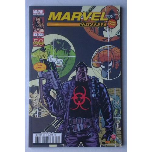 MARVEL UNIVERSE HS 9 PUNISHER VS MARVEL UNIVERSE (VF)
