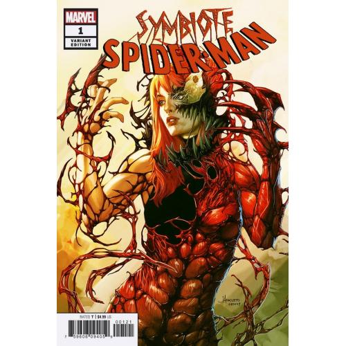 SYMBIOTE SPIDER-MAN 1 (VO) JAY ANACLETO VARIANT RARE
