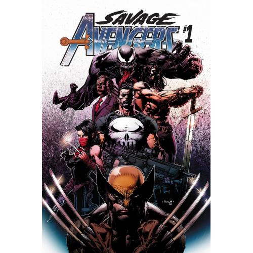 SAVAGE AVENGERS 1 (VO)