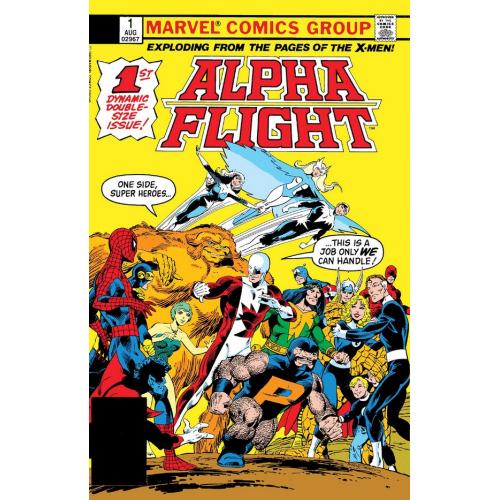 ALPHA FLIGHT 1 FACSIMILE EDITION (VO)