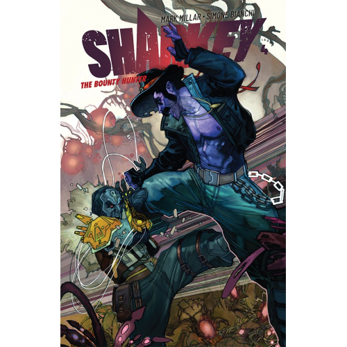 SHARKEY THE BOUNTY HUNTER 4 (VO) MARK MILLAR - SIMONE BIANCHI