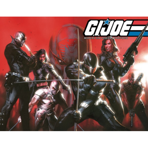 GI JOE MODERN ERA LEGENDS ART PORTFOLIO (VO)
