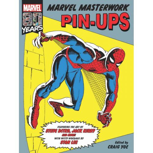 MARVEL MASTERWORKS PIN-UP HC (VO)