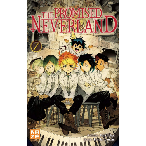 The promised Neverland Tome 7 (VF)