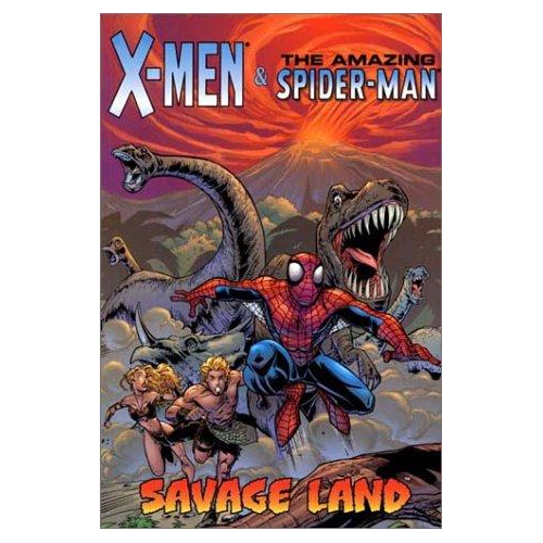 X-MEN & AMAZING SPIDER-MAN SAVAGE LAND TP (VO) occasion