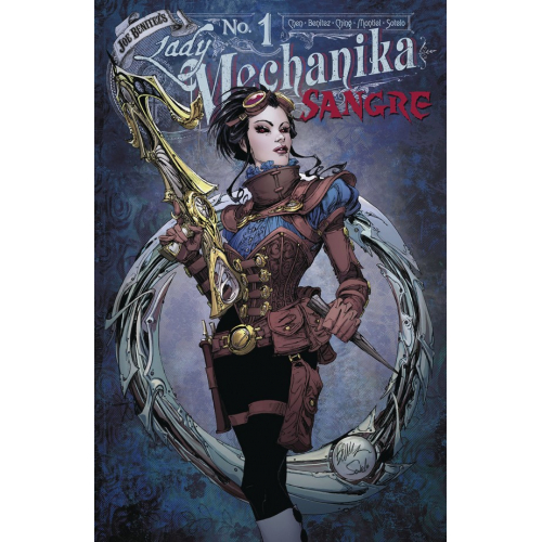 Lady Mechanika : Sangre 1 (VO) Couverture A