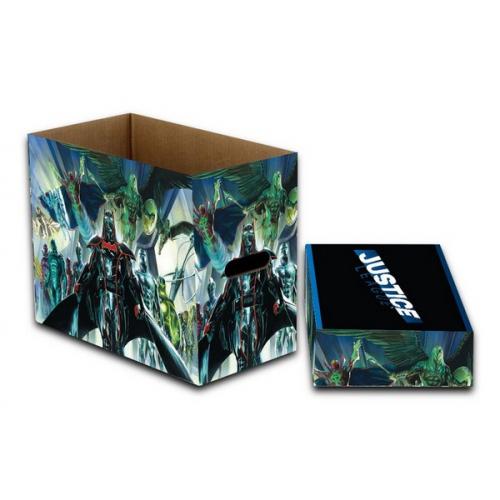 Short box Justice League