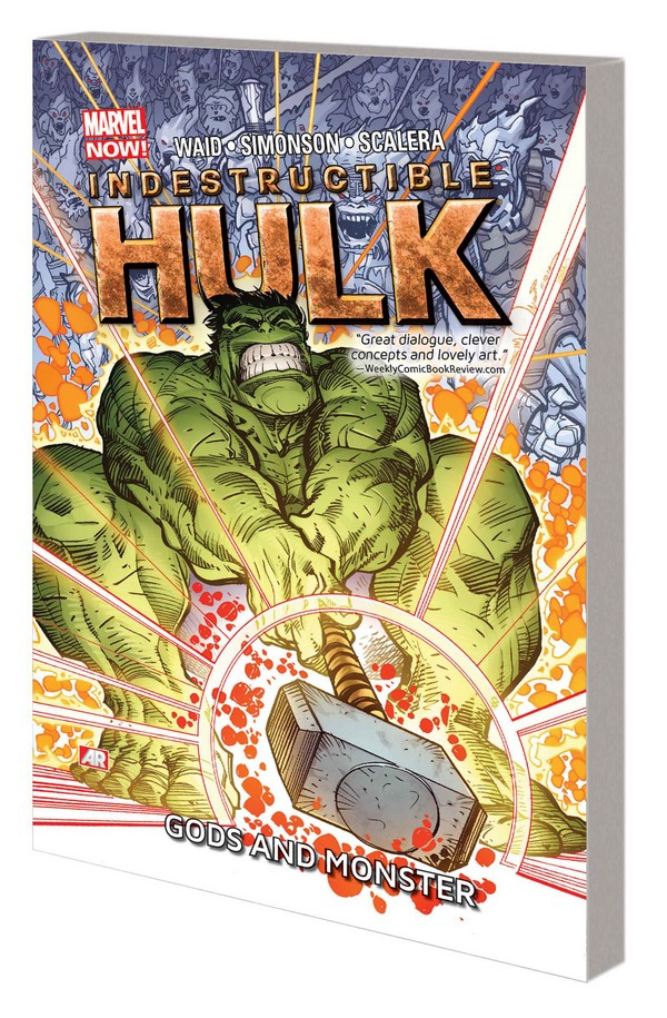 INDESTRUCTIBLE HULK TP VOL 02 GODS AND MONSTER (VO) occasion